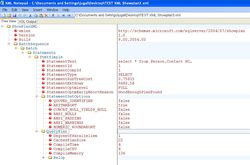 XML Notepad screen1