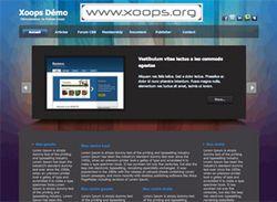 Xoops screen1