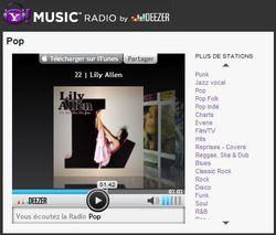 Yahoo-Deezer-Webradio