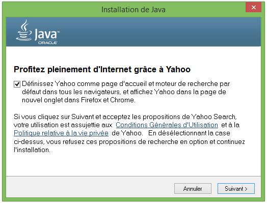 Yahoo-Java