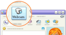 Yahoo messenger webcam