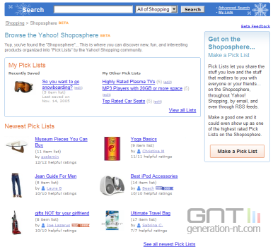 Yahoo shoposphere