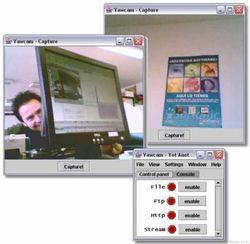 Yawcam screen2