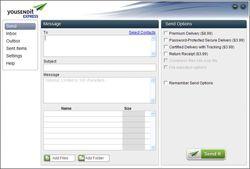 youSENDit Express screen2