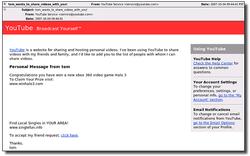 Youtube spam sophos