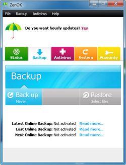 ZenOK Free Antivirus screen2