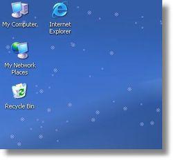 Znow Desktop Decoration screen 1
