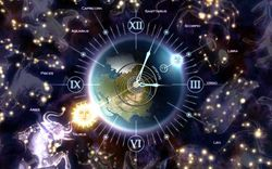 zodiac clock screen