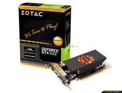 Zotac GeForce GTX 650 low profile