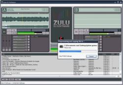 Zulu DJ software screen 1