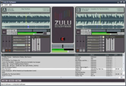 Zulu DJ software screen 2