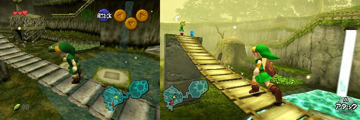 Zelda Ocarina of Time 3DS : comparatifs avec la version N64 - Cultea