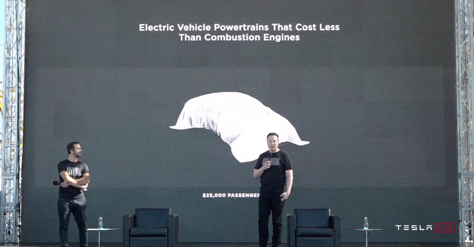 Tesla promet des voitures électriques à 25 000 $ d'ici trois ans