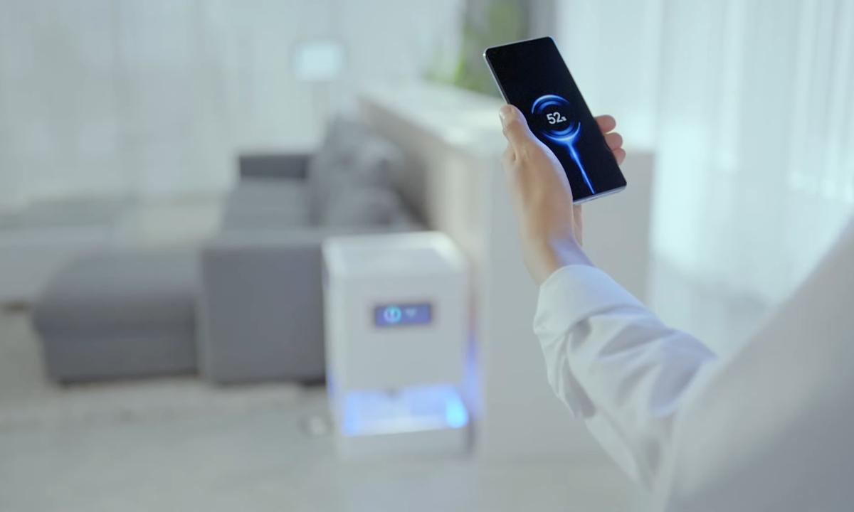 Le smartphone chargera bientôt… à distance