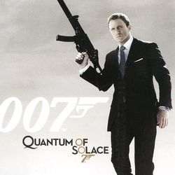 007 : Quantum of Solace - pochette