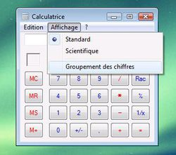 Calculatrice lisible 2