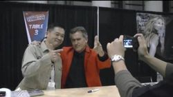 Keiji Inafune & Bruce Campbell - New York Comic-Con