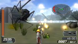 Earth Defense Forces 2 Portable PSP (19)