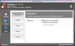 CCleaner Mac nouvelle interface (2)