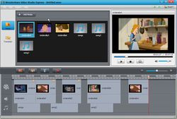 Wondershare Video Studio Express screen