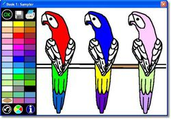 Connected Kids Coloring Book screen 2