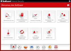 Bullguard Internet Security screen