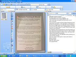 OmniPage Professional 17 screen 2