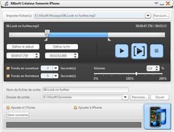 Xilisoft iPhone Ringtone Maker screen