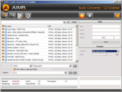 AIMP Audio Tools screen