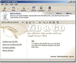 handybits_Zip&go screen