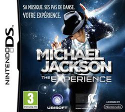 Michael Jackson The Experience - jaquette DS