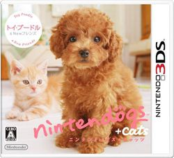Nintendogs + cats Toy Poodle - jaquette