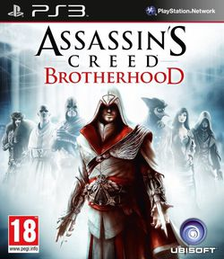 Assassin's Creed Brotherhood - jaquette PS3