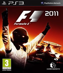 F1 2011 - Jaquette PS3