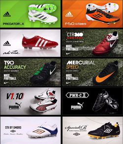 PES 2011 - DLC chaussures