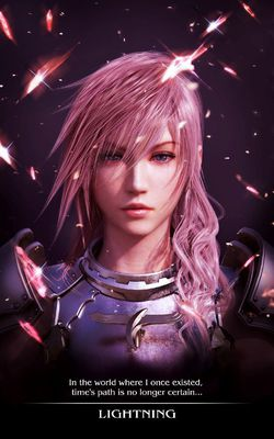 Final Fantasy XIII-2 - affiche Lightning (1)