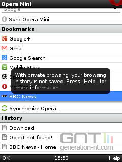 Opera Mini 4 5 pour les mobiles de base