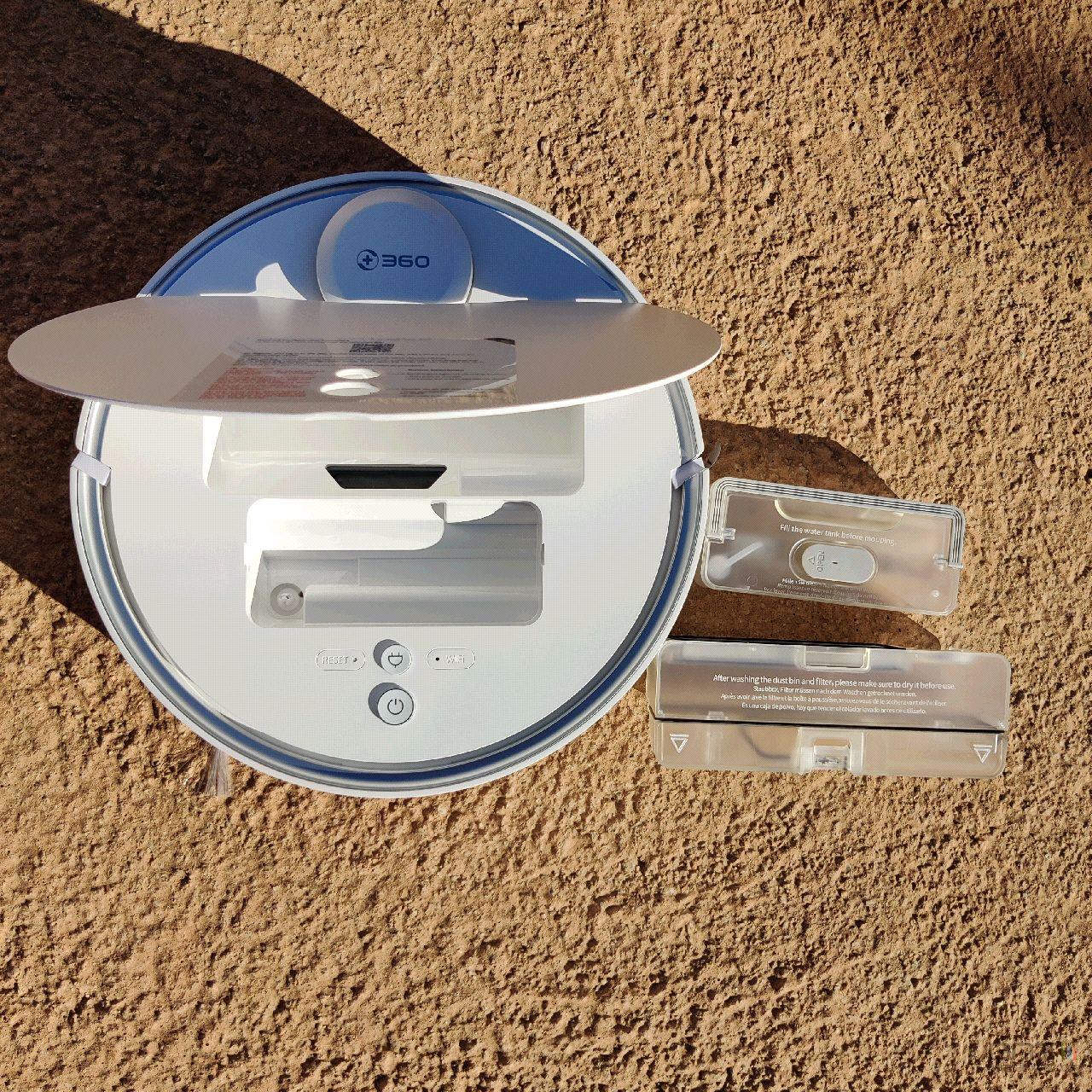 Test du 360 S6 Pro : un robot aspirateur et laveur de sol
