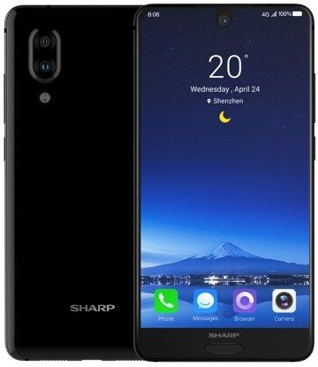 Sharp Aquos S2 noir