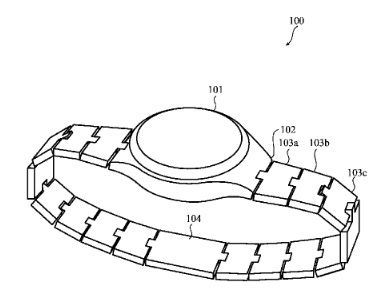 Apple Watch bracelet modulaire brevet