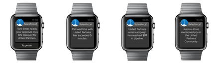 Salesforce1 Apple Watch