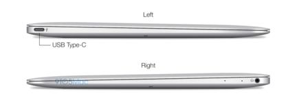 MacBook Air USB Type C