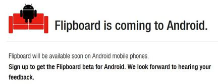 FlipBoard Android beta