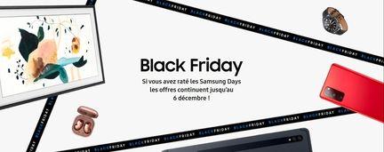 Black Friday : Samsung lance des offres sur les TV, écrans PC et électroménager !