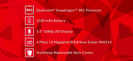 OnePlus One SnapDragon 801