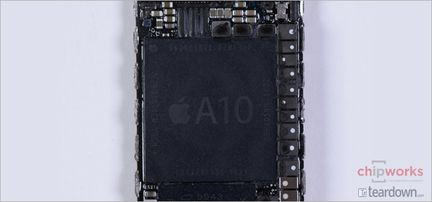 Apple A10 Fusion Chipworks