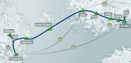 Hyperloop One Finlande