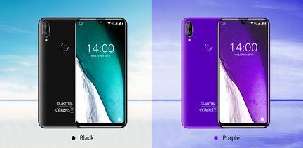 Oukitel-C16-Pro-noir-violet