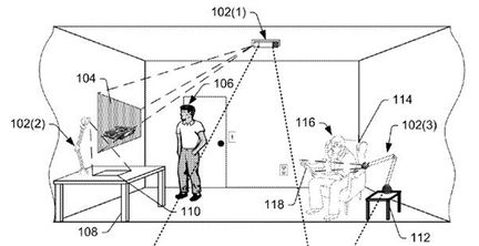 Amazon realite augmentee projection