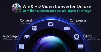 WinX HD Video Converter Deluxe banner image